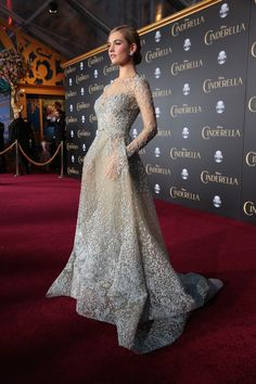 Red carpets and film premieres are a pretty magical event. When that premiere happens to be for the live-action Cinderella though, that Hollywood magic turns into an amazing royal ball. - Ball Gown / Evening Dress