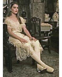"Brooke Shields as ""Violet"" in in Louie Malle's American film debut, 'Pretty Baby,' 1978."