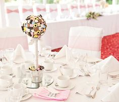 sweets wedding table decor