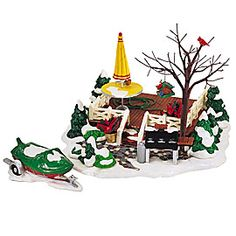 """Department 56: Products - """"The Backyard Patio"""" - View Accessories"""