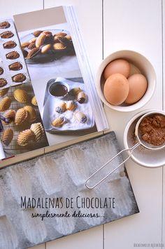 Bocadinhos de Açúcar: Madalenas de Chocolate