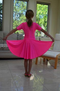 Girl Ballroom Dress 9 11 Years Old Ndca Competition | eBay