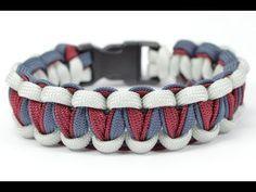"DIY - Make the ""Twisted Cobra"" Paracord Survival Bracelet - BoredParacord.com - YouTube"