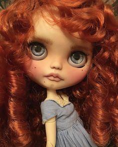 """""""Cherry"""" ~ Custom Blythe Doll By LoveLaurie"""