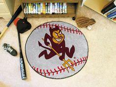 """Arizona State University Baseball Mat 26"""" diameter"""