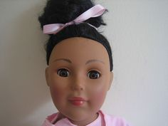 "MADAME ALEXANDER 18"" DOLL BLACK AFRICAN AMERICAN JOINTED BALLERINA BALLET"