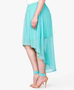 High-Low Skirt | FOREVER 21 - 2040495827 in 2X
