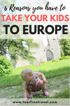 We'll share some tips for Europe travel with a toddler, and why Europe is for 'kid-friendly' activities and experiences. With so much to explore and discover, even on a budget, Europe with kids is the ultimate family vacation. Toddler Travel, Travel With Kids, Family Travel, Baby Travel, Travel Blog, Europe Travel Tips, Travel Guide, Budget Travel, Travel Jobs