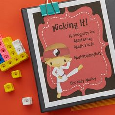Multiplication Fact Fluency Program Kicking It Math 4th Grade Writing, 7th Grade Math, 4th Grade Reading, Grade 3, Fourth Grade, Third Grade, Math Activities, Teacher Resources, Teacher Tools