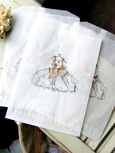 The Dress Glassine Bags