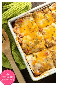 Weight Watchers Taco Casserole – Only 5 Points.