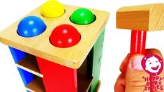 Learn Colors for Kids with Wooden Pounding Toy and Balls for Toddlers Quiz for Preshoolers Learning Colors For Kids, Colors For Toddlers, Fun Learning, Wooden Car, Wooden Toys, Color Quiz, Funko Pop Batman, Slime For Kids, Baby Smiles