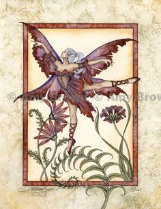 """Arabeque"" ORIGINAL ART - Watercolor Paintings A - H - Amy Brown Fairy Art - The Official Gallery"