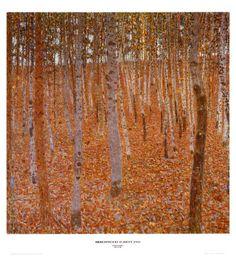 One of  my fav artists -Klimt's Beechwood Forest