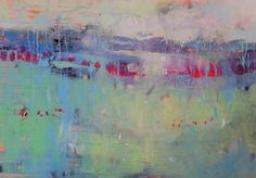 "Saatchi Art Artist Marta Zawadzka; Painting, ""after the rain - canvas"" #art"
