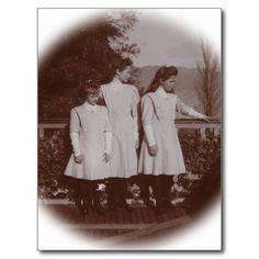3 daughters Tsar of Russia - Romanov #228