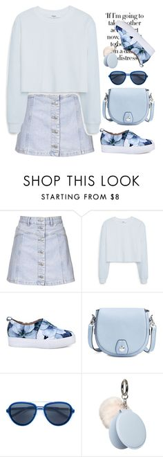 """""""Untitled #280"""" by jovana-p-com ❤ liked on Polyvore featuring Topshop, MANGO, rag & bone, Linda Farrow and Dorothy Perkins"""