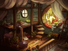 Klaaya`s room by Ewreilyn