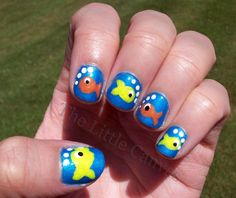 Fishy nails!