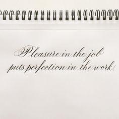"373 Likes, 11 Comments - Soraya • Sorro.nl Kalligrafie (@sorro.nl) on Instagram: ""PRACTICE | Wise words from Aristotle 💡 . . Nib: Leonardt Principal EF Ink: Walnut ink Paper:…"""