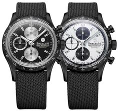 The new Brellum Pandial Black DLC Chronometer watch with images, price, background, specs, & our expert analysis. Breitling, Watches, Accessories, Black, Game, Clocks, Wristwatches, Black People, Venison