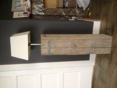 Lamp van oud steigerhout
