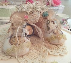 Southard House Bed and Breakfast Inn: Vintage Baby Shoes