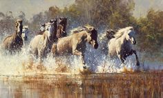 Robert Hagan original art shows his mastery of light and shadow . Description from landsboroughgalleries.com.au. I searched for this on bing.com/images