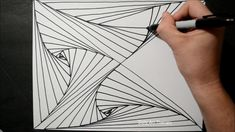 Illusion Drawings, Art Therapy, Abstract Pattern, Illusions, Cool Stuff, Day, Youtube, Creative Art, Creativity