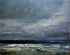 Dyer,Geoff  Bass Strait     oil on linen  James Makin Gallery - Art