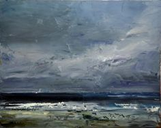 Dyer,Geoff Bass Strait oil on linen James Makin Gallery - Art