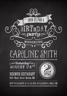 Nice Free Printable Birthday Invitation For Adult 40th Invitations