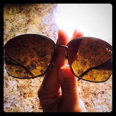 "Coach Sunglasses Adorable Authentic Coach Sunglasses! Model is ""Alyssa (S565) color is Tortoise! These have been previously used but in great shape! Condition is good! There is also a small blemish on the boarder rim of one Lens.. Purchased new this way! Not sure what it is but it never bother me and it's hard to find kinda tucked in where frames and lens meet! My price reflects the VERY minor flaws! Comes with Coach case! Lots of life left and love to give Coach Accessories Sunglasses"