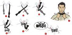PEDRO HITOMI OSERA: Gravata: Aprenda a dar o nó borboleta (ou laçarote...