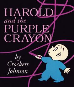 Harold and the Purple Crayon Board Book #books #kids #harold
