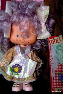 Boneca Moranguinho - amor perfeito 1988