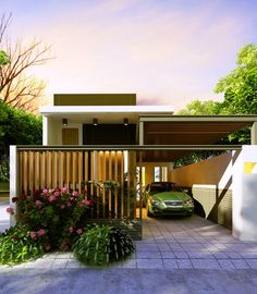 Công ty xây dựng Thanh Niên giới thiệuđến các bạn mẫu Mẫu thiết kế nhà cấp 4 theo phong cách Villa được thiết kế kết hop văn phòng làm việc...