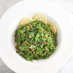 Herb Salad With Quinoa & Mint
