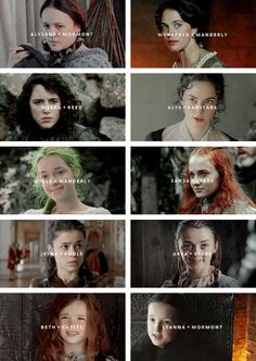 ❄ N O R T H E R N L A D I E S O F T H E N E W C E N T U R Y ❄ Before I am your daughter, your sister, your aunt, niece, or cousin, I am my own person, and I will not set fire to myself to keep you warm #asoiaf