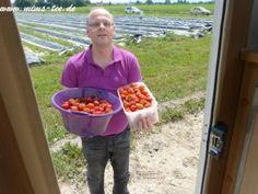 Glück im Erdbeerfeld