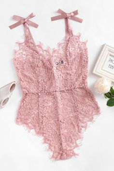 Play Time Lace Bodysuit