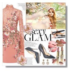 """""""sexy glam #beautylicethfashion"""" by licethfashion ❤ liked on Polyvore featuring beauty, Georges Hobeika, Paul Andrew, L'Oréal Paris, Mary Kay, Miguel Ases, polyvoreditorial and licethfashion"""