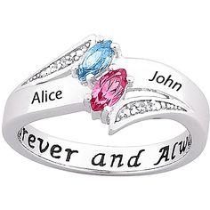 Diamond promise rings for her - 12