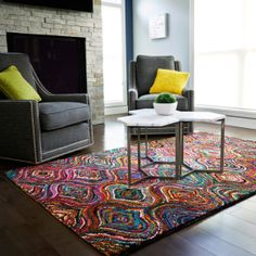 area rugs add drama… | inspired habitat