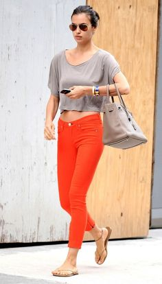 #IrinaShayk in Rag & Bright Jeans - DesignerzCentral