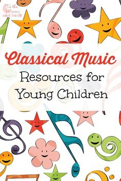 A list of fun resources to use to introduce young children to classical music.