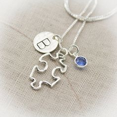 Puzzle Charm Sterlin