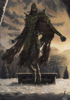 Dragon Priest Art