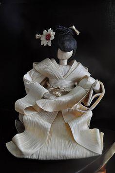 Geisha Corn Husk Doll