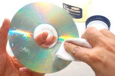 How to repair a scratched CD